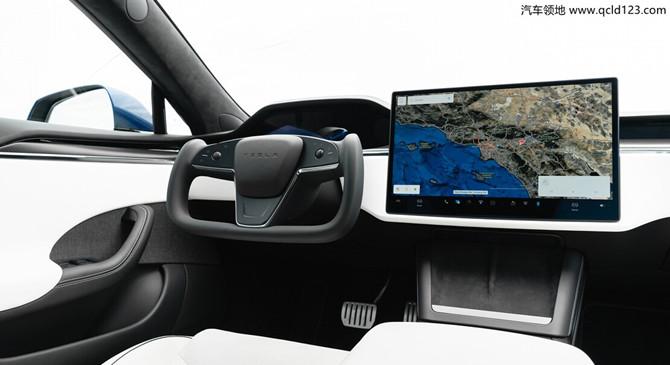 汽车领地:2022 款特斯拉 Model S 格子将采用矩形方向盘